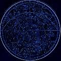Sky Map by Nicoolay