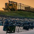 Sky Train Reflection by Jeremy Simpson