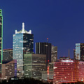 Skyline Of Dallas 041719 by Rospotte Photography