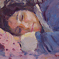 Sleeping Lady by Ylli Haruni