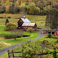 Sleepy Hollow Farm Woodstock Vermont Fall 2018 by Terry DeLuco