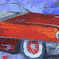 Slick Red Cadillac by David King