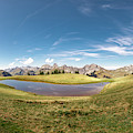 Small Lake In The Mountains by Mark Stastny