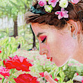 Smelling The Roses by Paramjeet Kaur