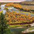 Snake River Autumn by Leland D Howard