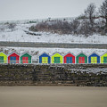Snow At Barry Island by Dean Baynham
