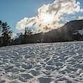 Snow Field by Kristopher Schoenleber