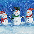 Snow Peeps by Darice Machel McGuire