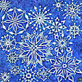 Snowflake Tapestry by Amy E Fraser