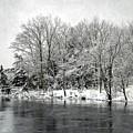 Snowing River by Karin Pinkham