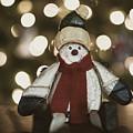Snowman Decor And Bokeh by Keith Smith