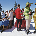 Snowmass Gathering by Slim Aarons