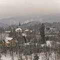 Snowy Bled In Slovenia by MSVRVisual Rawshutterbug