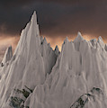 Snowy Mountain 006 by Clayton Bastiani