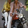 Socialite Bikers by Slim Aarons