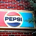 Soda Pop Sign by Cynthia Guinn