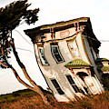 Solitary Farmhouse Twisted by Sue Harper