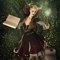Sorceress And Magic by Angelo Arcamone