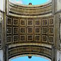 Sous L'arc De Triomphe by Rick Locke
