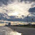 South Carolina Coastline - Myrtle Beach by Andrea Anderegg
