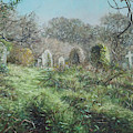 Southampton Old Cemetery In Autumn by Martin Davey