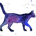 Space Cat by Olga Shvartsur