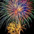 Sparkling Bright Fireworks by Garry Gay