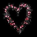 Sparkling Heart  by Rachel Hannah