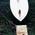 Speedboat Landing by Slim Aarons