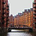 Speicherstadt, Hamburg, Germany by Ferry Vermeer