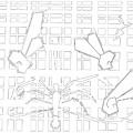 Spiders Web Gridismjr Bandw by Artist Dot