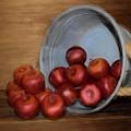 Spilled Apples by Pamela Walton
