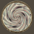 Spinning A Design For Decor And Clothing by John M Bailey