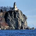Split Rock Lighthouse by Phyllis Taylor