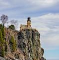Split Rock Lighthouse Portrait by Susan Rydberg