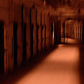 Spooky Old Prison Cell Block by Paul W Faust - Impressions of Light