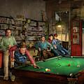 Sport - Pool - The Pool Hustle 1941 by Mike Savad