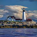 Spring Morning At Portland Head Lighthouse by Rick Berk