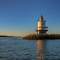 Spring Point Ledge Lighthouse On A Spring Morning by Rick Berk