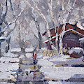 Spring Snow  by Ylli Haruni