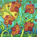 Spring Tapestry by Amy E Fraser