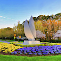 Springtime At Christopher Newport University by Ola Allen
