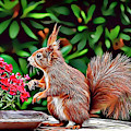 Squirrel by Russ Carts