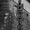 St. Anns Warehouse Theatre Bw by Susan Candelario