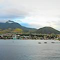 St. Kitts Basseterre Panorama by Kristia Adams