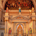 St. Louis Cathedral Altar New Orleans by Kathleen K Parker