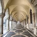 St. Mark's Corridor  by Harriet Feagin