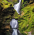 St Nectan's Kieve Waterfall, Cornwall by David Ross