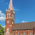 St. Wenceslaus Catholic Church by Edward Peterson
