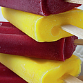 Stack Of Frozen Ice Pops by Garry Gay